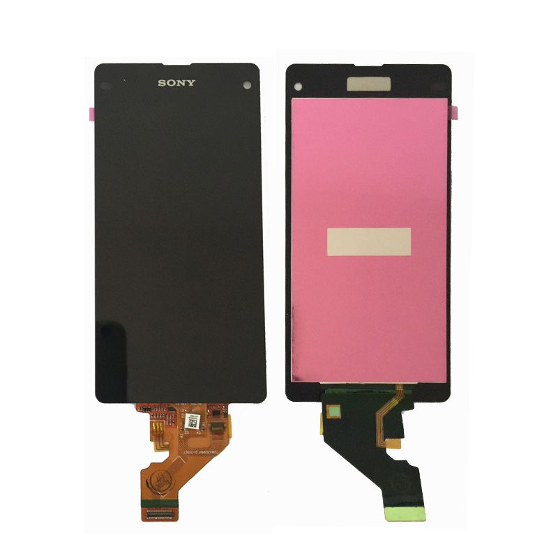 4.3'' Adhesive For Sony Xperia Z1 Mini Compact D5503 M51W LCD Display Touch Screen Digitizer Assembly Free shipping