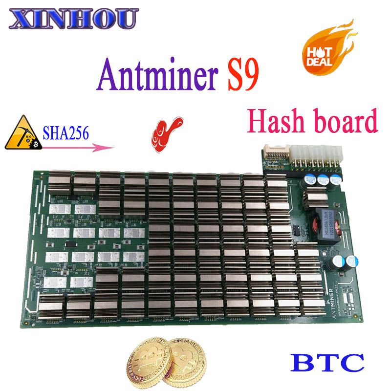 Schiff in 24 stunden ASIC miner AntMiner S9 Raute bord SHA256