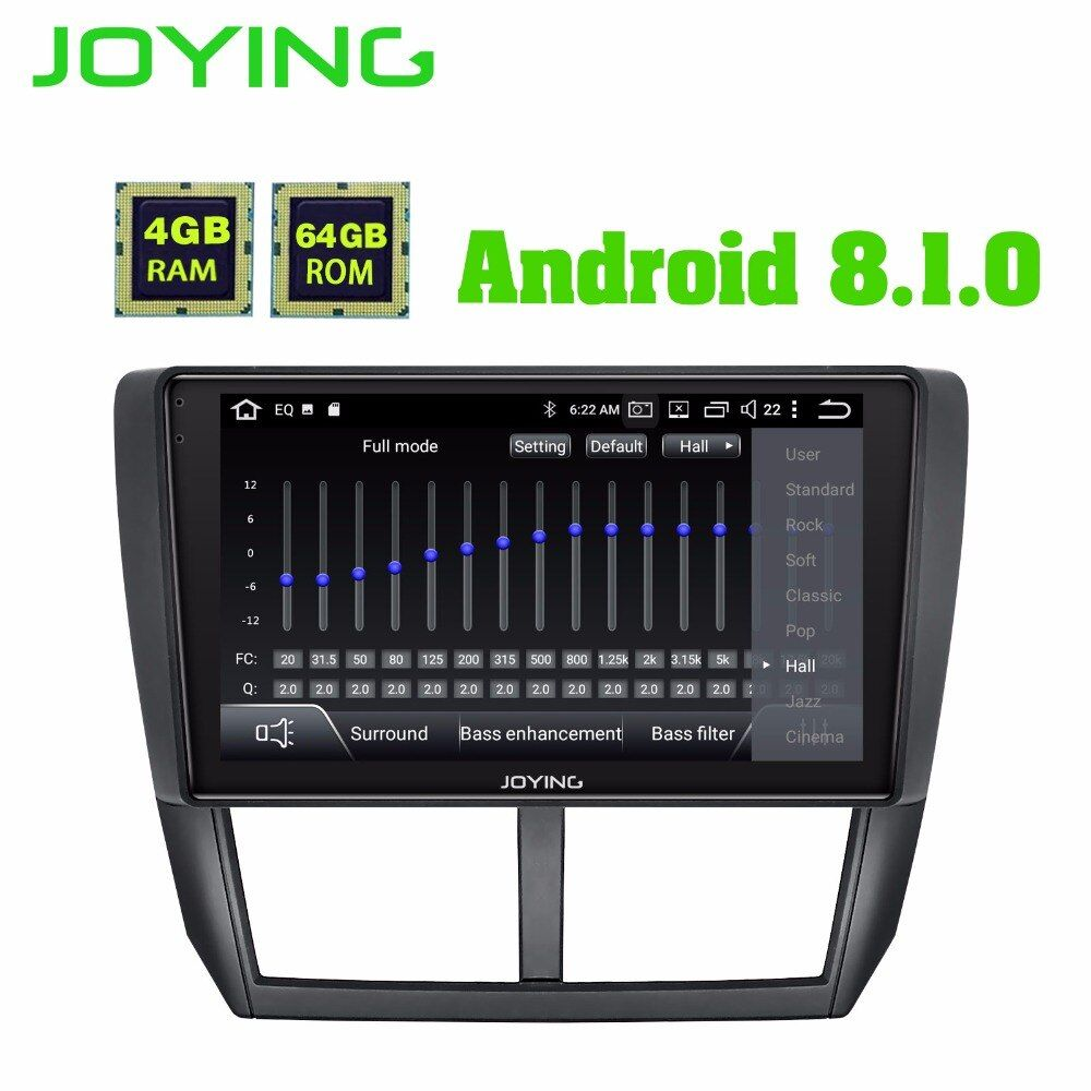 9 IPS 4 GB + 64 GB DSP Android Auto Radio Stereo Audio GPS Navigation Kopf Einheit Für Subaru forester 2008-2012 Multimedia Player