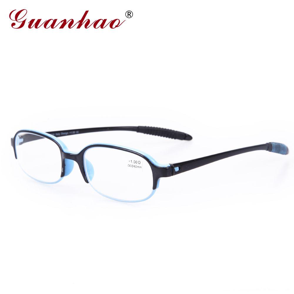 Guanhao ultraléger Transparent lunettes de lecture hommes femmes optique résine lunettes pour vue presbytie lunettes 1.0 1.5