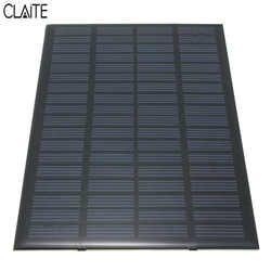 Alta calidad 18 V 2.5 W policristalino almacenado energía solar panel Module System cargador de células solares 19.4x12X0.3 cm