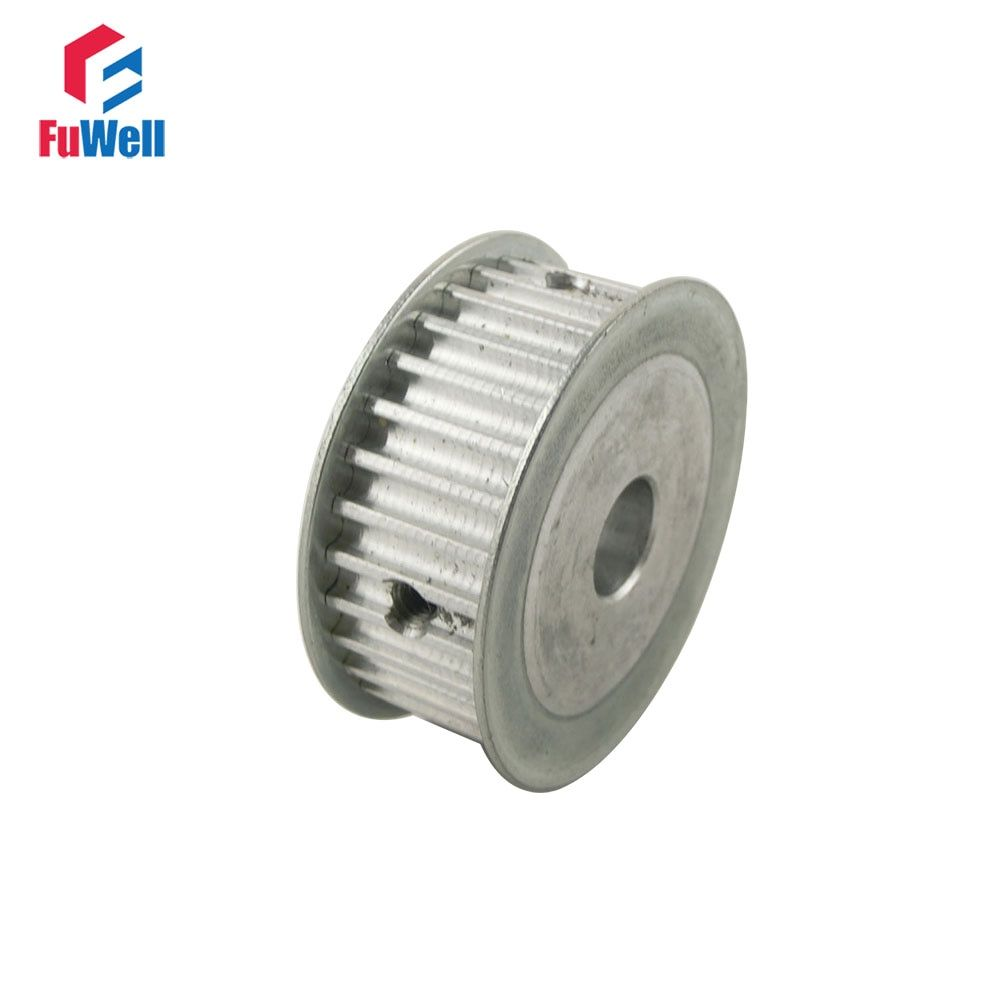 5M Type 30T Timing Pulley Inner Bore 6/6.35/8/10/12/12.7/14/15/16/17/20mm 30 Teeth 5mm Pitch 16mm Belt Width Timing Belt Pulley