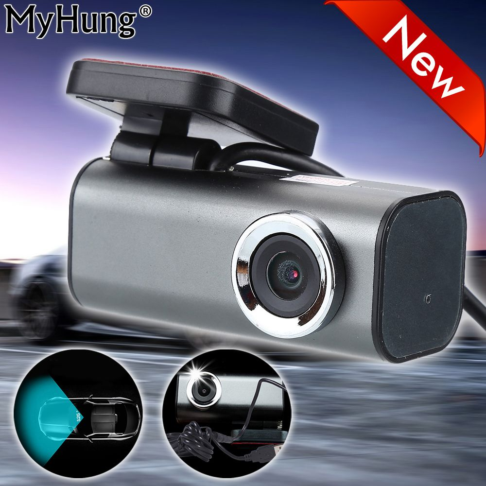 2017 USB2.0 Front Car Camera USB DVR Digital Video Recorder HD Car Dvrs Camcorder Video Parking Recorder Auto Accessories