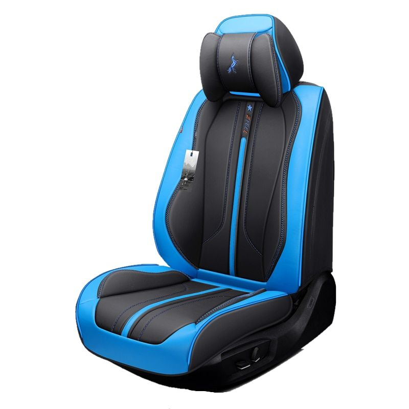 Car Seat Cover (Front + Rear),New Universal Seat Cushion,Senior Leather,New Sport Car Styling,Car-Styling For Sedan SUV