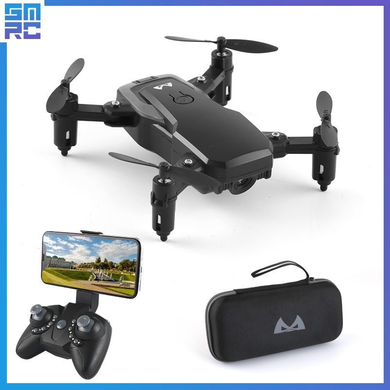 One Key Return High Hold Headless Mode Selfie Professional Helicopter Long battery life Foldable FPV wifi drone with HD camera