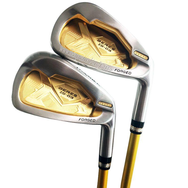Cooyute Neue Golf Clubs HONMA S-03 4 Sterne Golf Irons set 4-11.Aw.Sw IST-03 Graphit Golf welle irons Clubs headcover Kostenloser versand