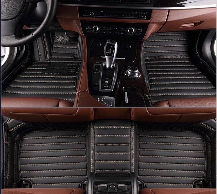 Top qualität & Kostenloser versand! Custom special auto fußmatten für Audi A4 B9 Limousine 2017 wasserdichte durable teppiche für A4 B9 2018