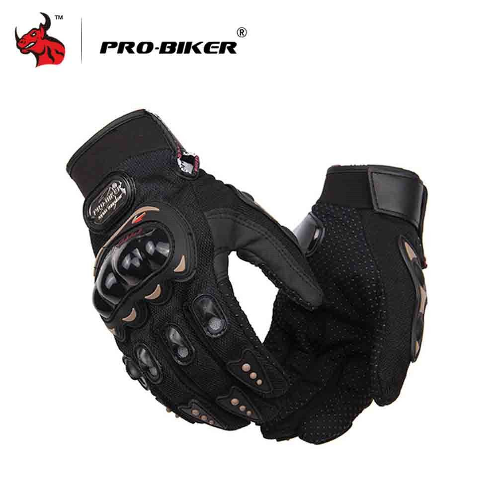PRO-BIKER Motorcycle Gloves Black Moto Gloves Racing Motorcycle Special Forces Tactical Gloves Men Motocross Gloves