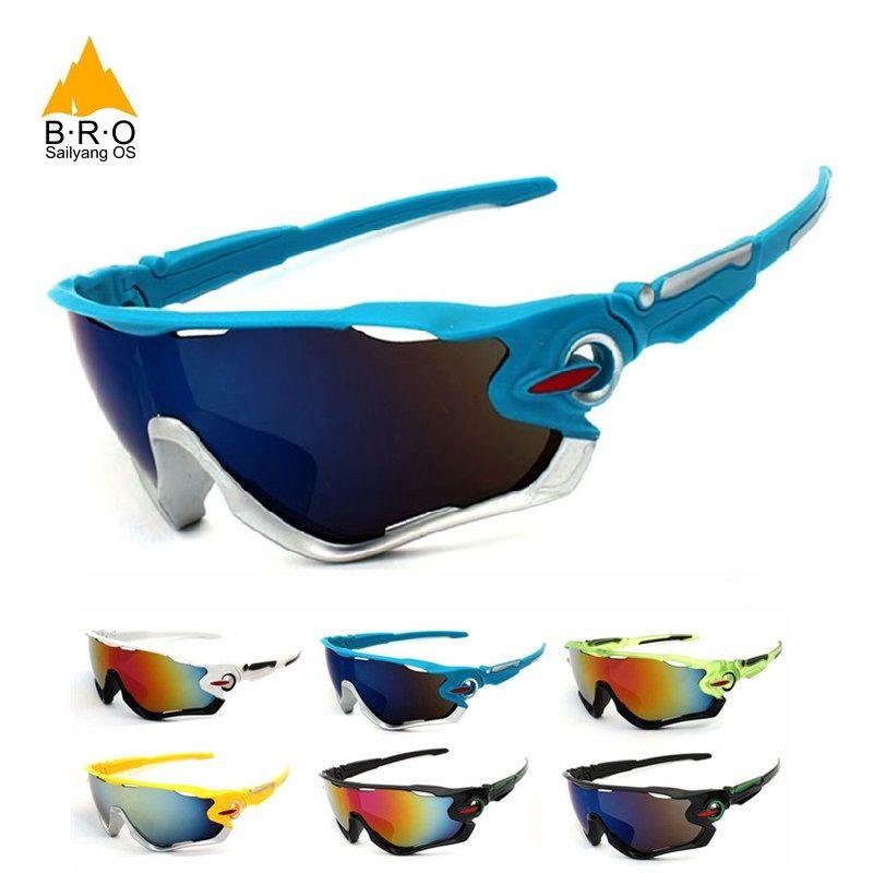 Велоспорт Очки UV400 большой объектив Для мужчин/wo Для мужчин для велосипеда очки вождения Рыбалка открытый Спортивные очки Солнцезащитные о...