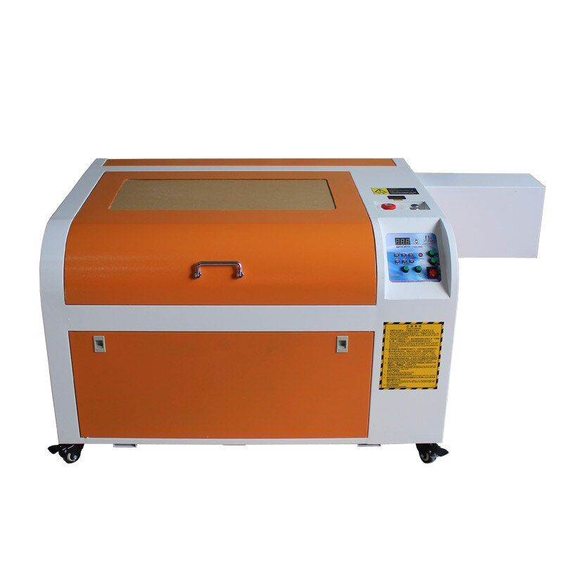 CO2 Laser Engraving machine 6040M 60W stamp maker with rotary axis for wood,MDF,acrylic,plastic,plexiglass,crystal,rubber