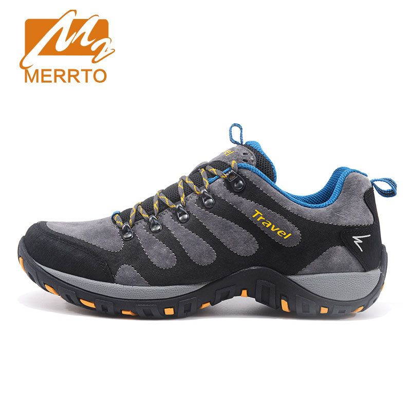 MERRTO Autumn And Winter Outdoor Hiking Shoes Climbing Shoes Non-slip Damping Wear-resistant 0ff-road  Outdoor Hiking shoes male