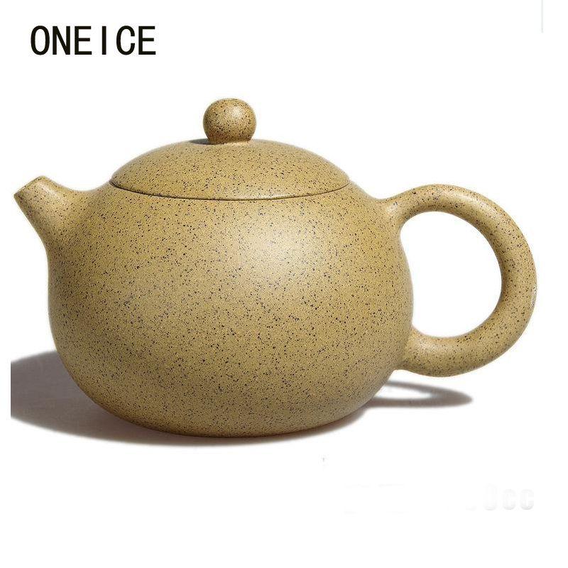 Xi Shi Authentic Yixing Teapot Famous Handmade Original Mine Purple Mud Kung Fu Tea Sesame Pot 250ml author:Yu Feng