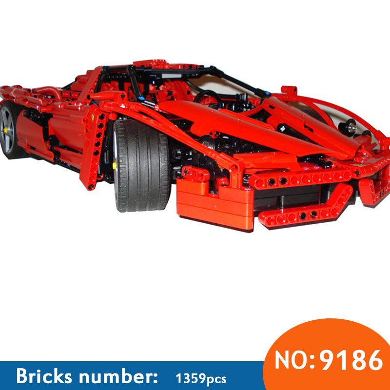 2017 Nouveau AIBOULLY Technique ENZO 1:10 Supercar Voiture Modèle Éducatifs de Bloc de Construction De Briques De Construction compatibles avec BRICOLAGE 8653