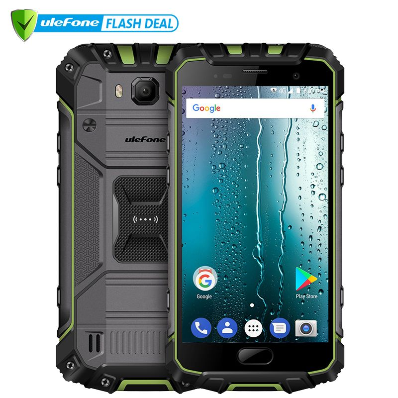 Ulefone Armor 2S Waterproof IP68 NFC Mobile Phone 5.0