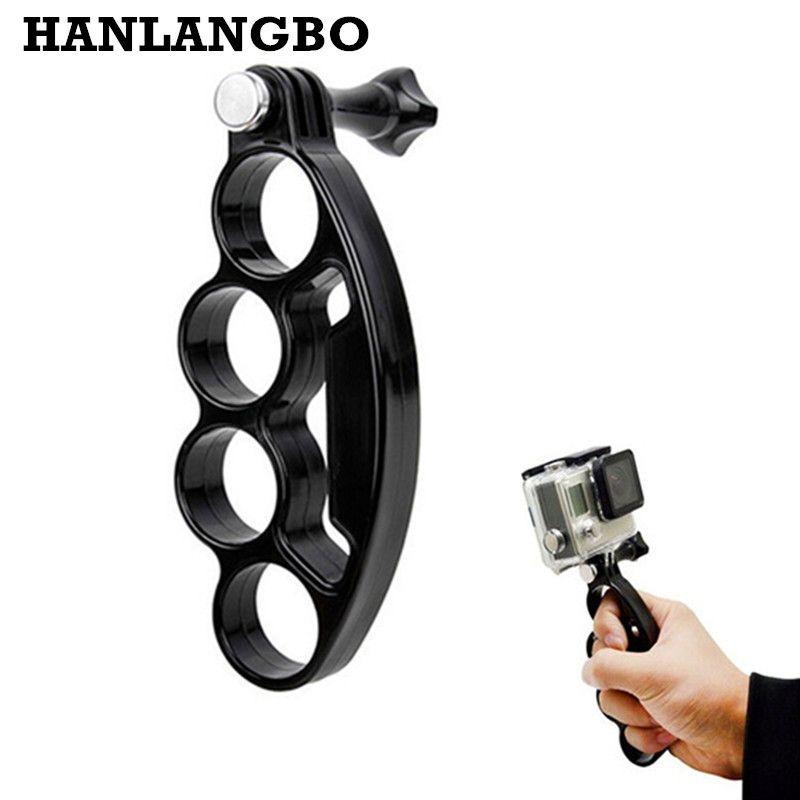 HANLANGBO Handheld Knuckles Finger Einbeinstativ für Gopro Hero 5 4 3 3 + Xiaomi Yi 4 karat SJCAM Sj4000 GO PRO Action Kamera Zubehör