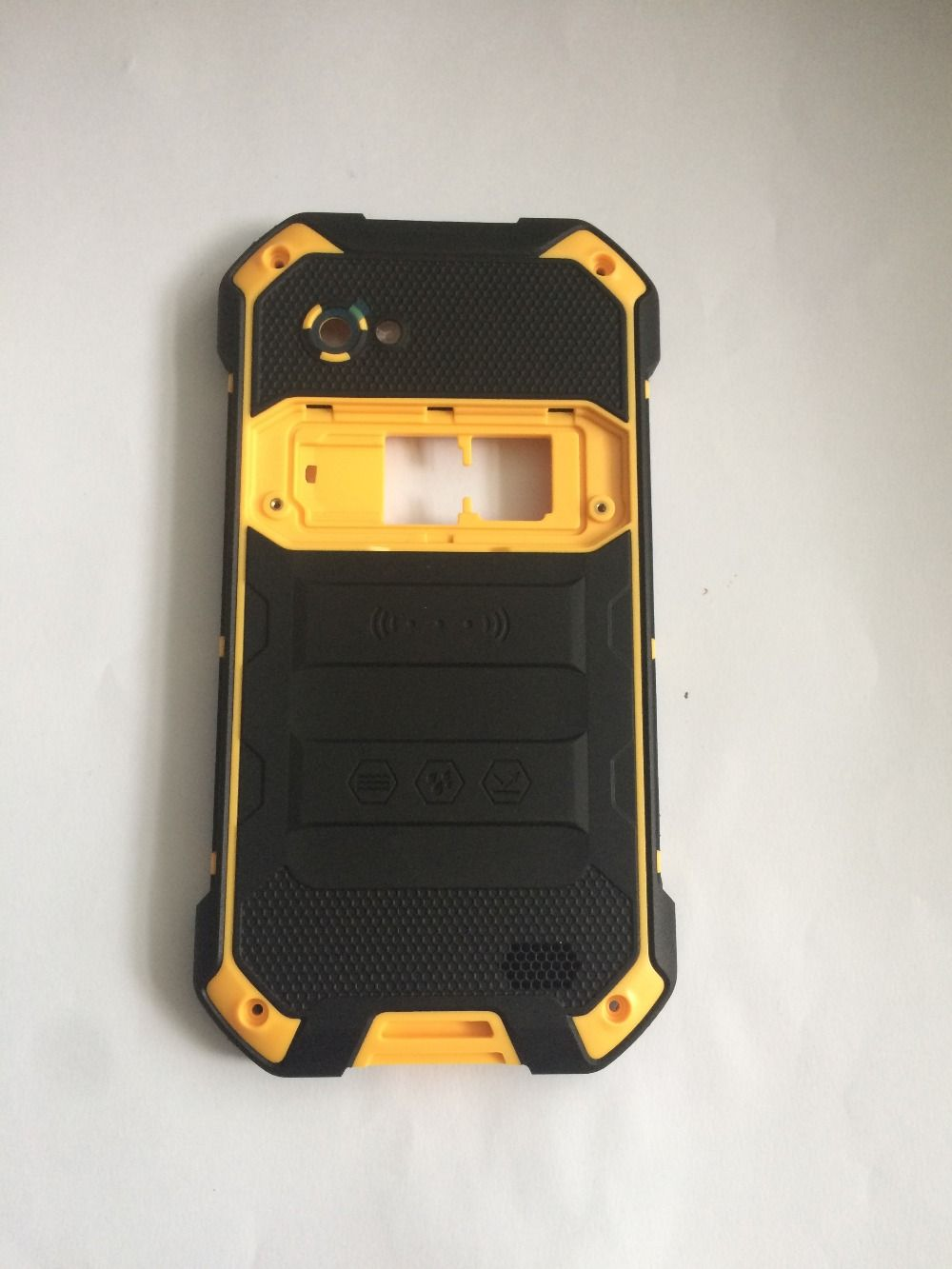 New Blackview BV6000 Batterie-abdeckung Zurück Shell + Lautsprecher Für Blackview BV6000S Telefon Freies verschiffen + spurhaltungszahl