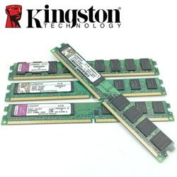 Kingston PC de escritorio Memoria RAM Memoria módulo 800 DDR2 PC2 6400 2 GB 4 GB (2 piezas * 2 GB) compatible DDR2 800 MHz/667 Mhz 1 GB DDR 2 800