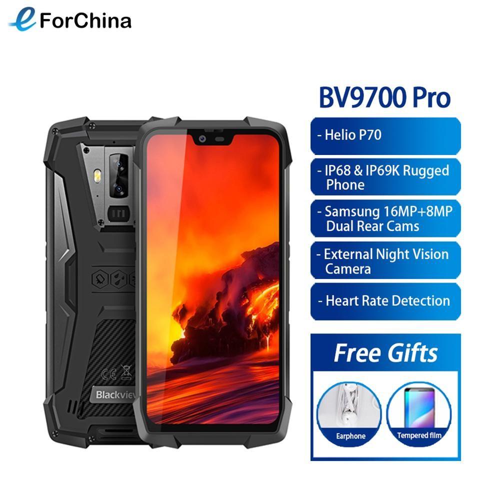 Blackview BV9700 Pro Helio P70 6GB + 128GB IP68 Wasserdichte Handy 5,84