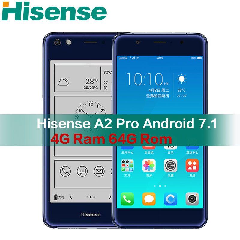Hisense A2 Pro double screen mobile Smartphone 4G LTE FDD 5.5