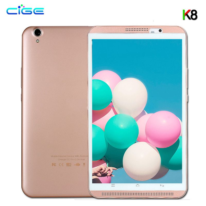 Newest 8 Inch Tablet PC 3G WCDMA 4G LTE MT8752 Octa Core 4GB RAM 64GB ROM Dual SIM Android 8.0 GPS 1280*800 IPS Tablets 10