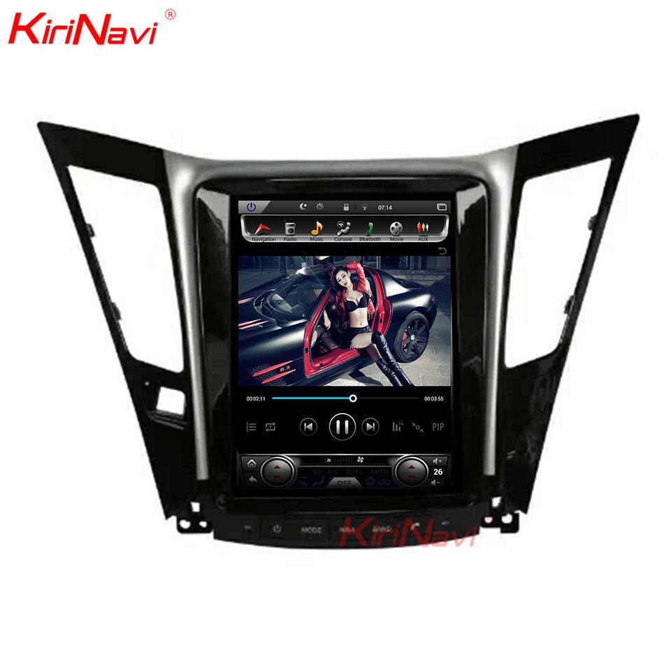 KiriNavi Vertikale Bildschirm Tesla Stil Android 7.1 10,4 Zoll Auto Stereo Dvd Für Hyundai Sonata Radio Gps Navigation System Mit 4G
