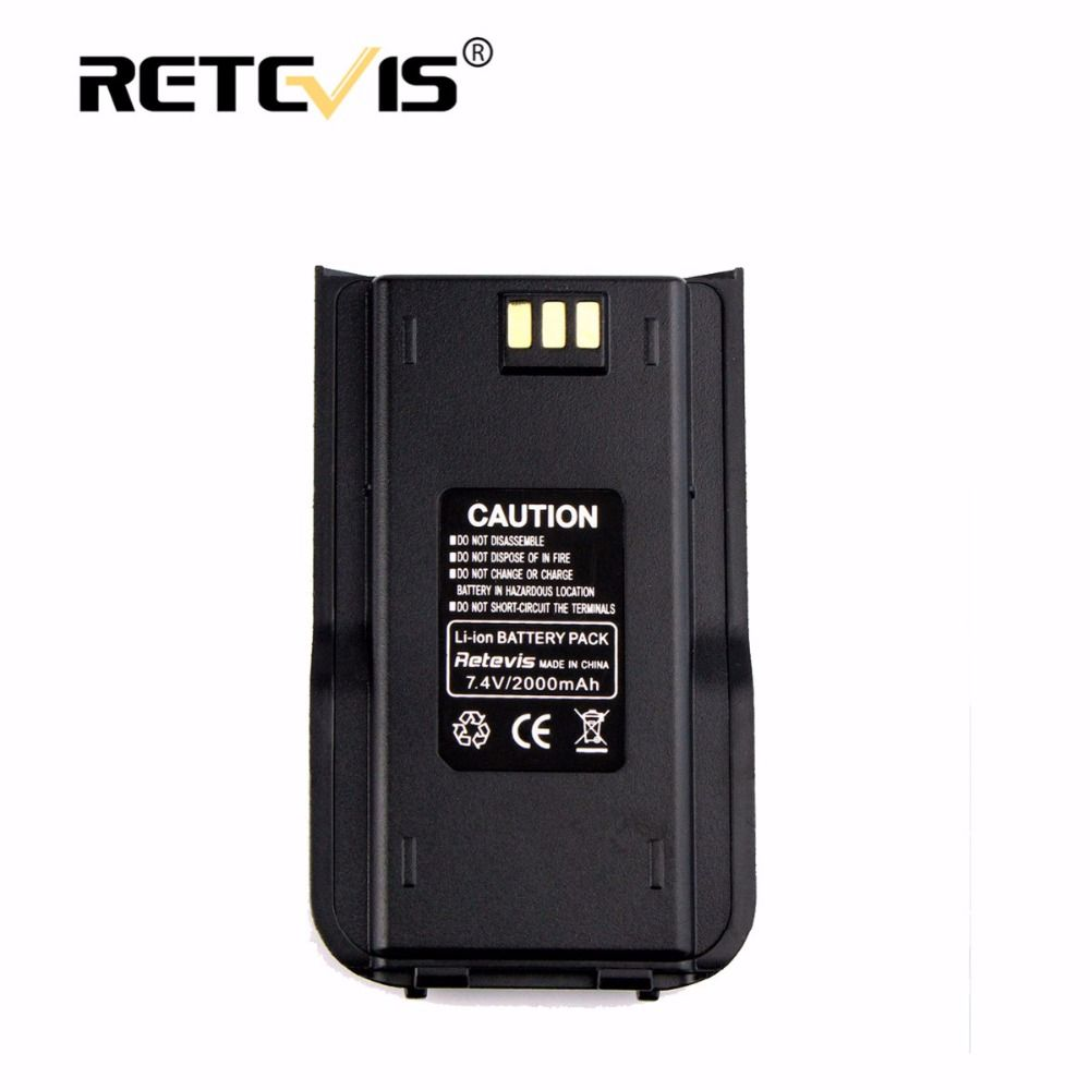 100% New 2000mAh Li-ion Radio Battery 7.4V Walkie-talkie Battery for Tytera For TYT MD-380/MD-380G/MD-446/DP-290 Retevis RT3