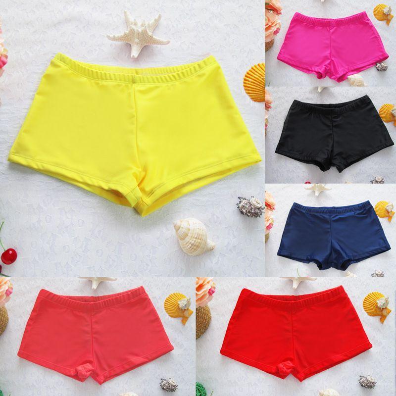 Femmes shorts 2018 maillot de bain shorts femmes sexy bref maillots de bain maillots de bain, sous-vêtements femme boxer maillot de bain boxer