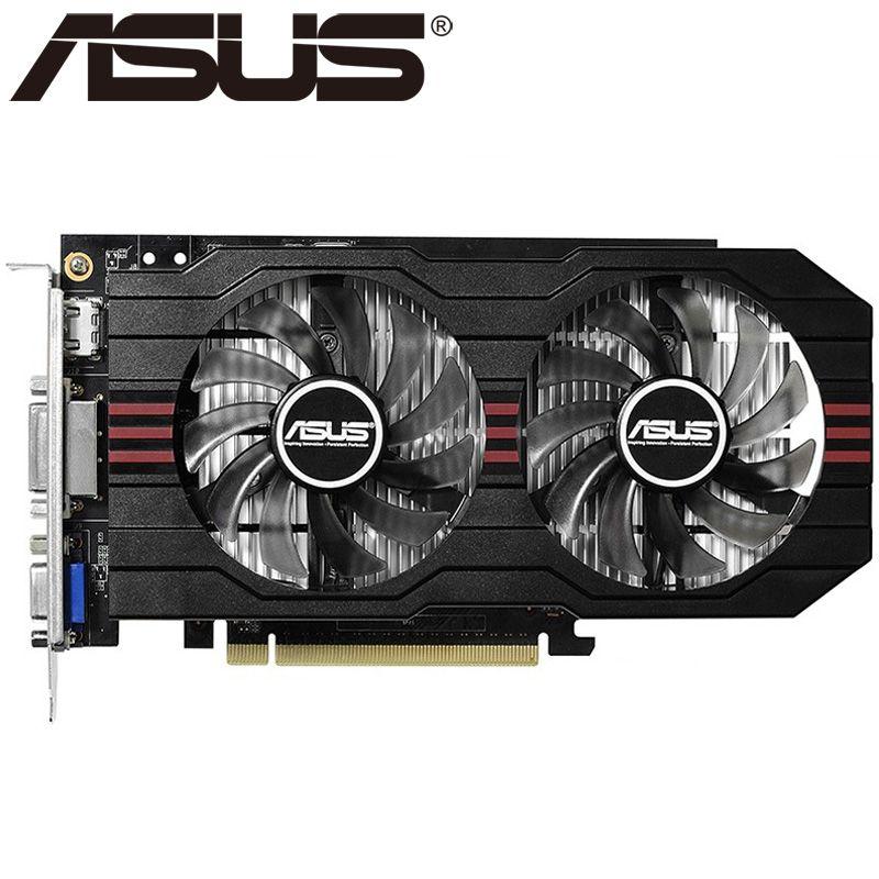 ASUS Video Grafikkarte Original GTX 750 2 GB 128Bit GDDR5 Video karten für nVIDIA VGA Karten Geforce GTX750 Hdmi Dvi Auf verkauf