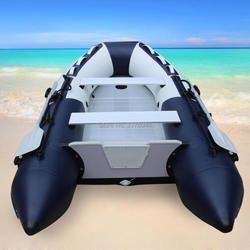 'GTS330 Goethe aluminium Lantai dan PVC tiup memancing memancing kapal speed boat