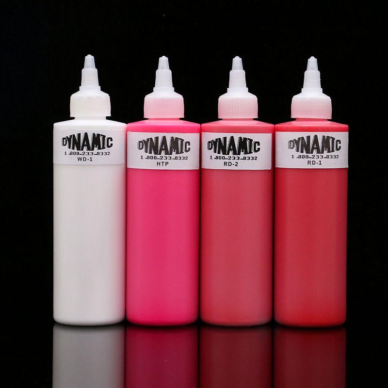 Новое поступление 8 расцветок 8 унц. динамический чернила татуировки 240 мл/Бутылочки цена оптовой продажи Бесплатная доставка