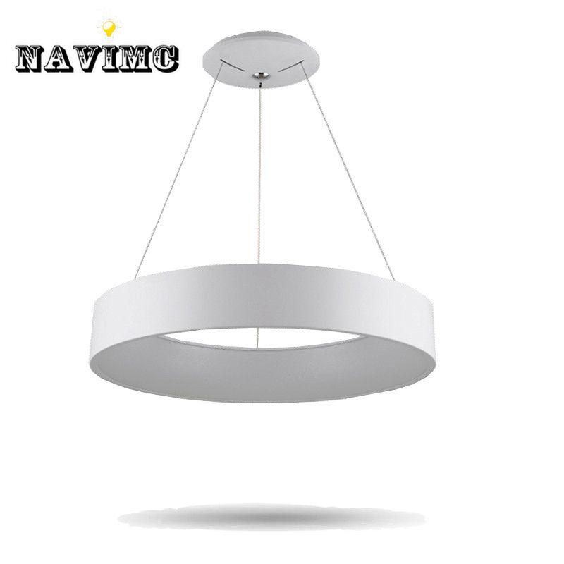 Modern Round LED Pendant Light for Dining Room Kitchen Restaurant Pendant Ceiling Lamp Novelty