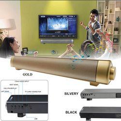 Enhanced TV Remote Control Soundbar BT Speaker LP-08soundbar Card Plugging Bluetooth Speaker MP3 Player Bluetooth Speaker