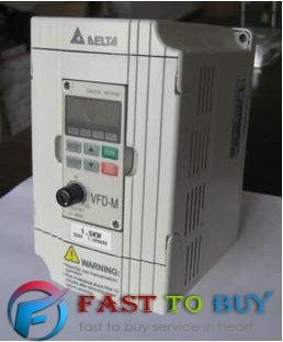 Delta Inverter VFD Variable Frequency Drive 1Phase 220V 2.2KW 3HP 0.1~400Hz VFD022M21A For Milling &Woodworking machine