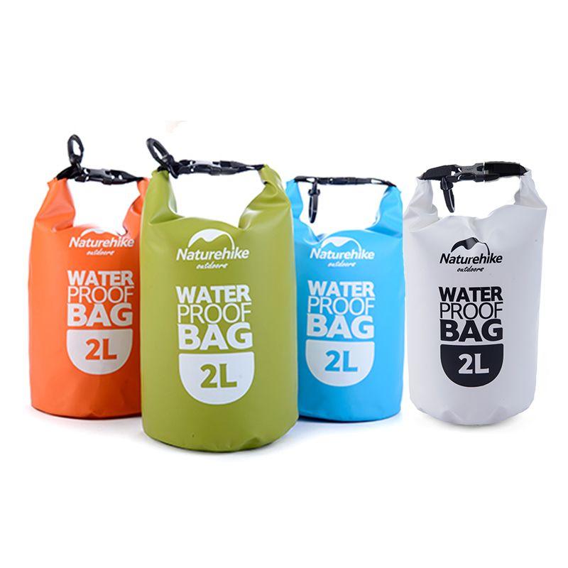 Naturetrekking 2L 5L petit sac de Rafting ultra-léger sac étanche sac sec NH15S222-D