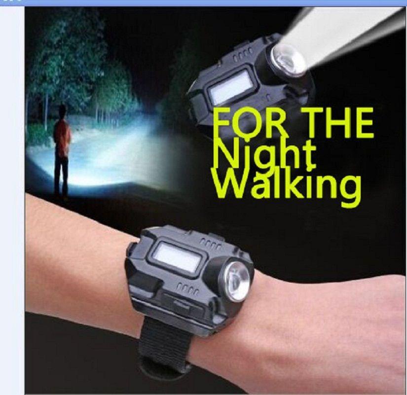Новый Портативный XPE Q5 R2 наручные часы фонарик Torch Light зарядка через USB наручные модель Тактический Перезаряжаемые фонарик