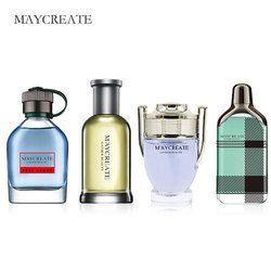 Maycrear Perfumes hombres Mini portátil para hombres mujer Perfumes mujeres marca Parfum fragancia duradera botella de Spray 100 mL 1 unidades