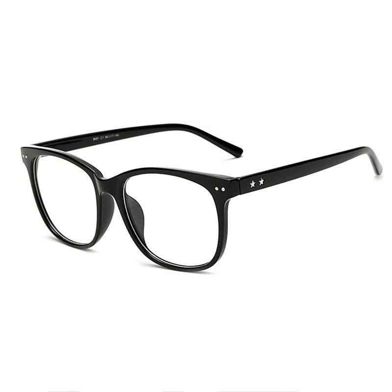 BINEYAE 8081 Fashion Women and Men Optical Eyeglasses Frame Full Rim Frame Plastic Tr-90 Stylish Decoration Glasses Frame