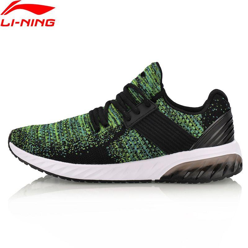 Li-Ning 2018 Men Shoes GEL KNIT Walking Shoes Mono Yarn Breathable Li Ning Sports Shoes Wearable Anti-Slippery Sneakers AGLN041