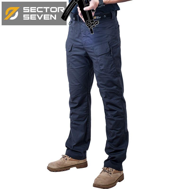 IX7C Waterproof War Game Cargo pants silm Casual tactical Pants men mens trousers Combat SWAT Army military Active Pants