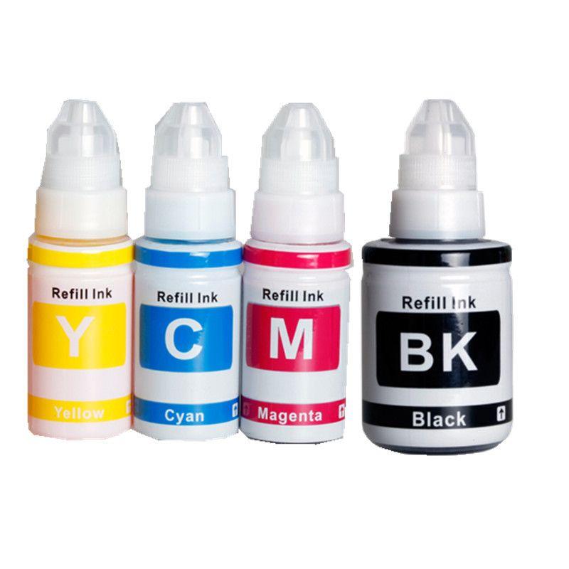 Kompatibel GI-490 BK ink GI490 C M Y Dye Tinte Refill-Kit für Canon PIXMA G1400 G2400 G3400 G1000 G2000 G3000 Tintenbehälter Drucker