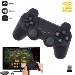 Cewaal Горячая 2,4G Беспроводной геймпад для ПК для PS3 ТВ коробка джойстик 2,4G джойстик игровой контроллер пульт дистанционного управления для ...