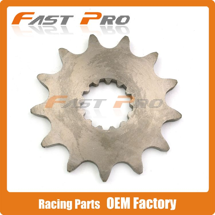 13T Front Chain Sprocket For YZ250 YZ450F WR450F YFM660 Motocross Motorcycle Dirt Bike ATV Off Road