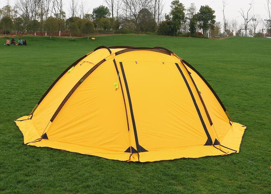 Hillman 3-4 person große raum aluminium pole 210 T wasserdichte ultraleicht outdoor camping zelt hohe qualität neue zelt