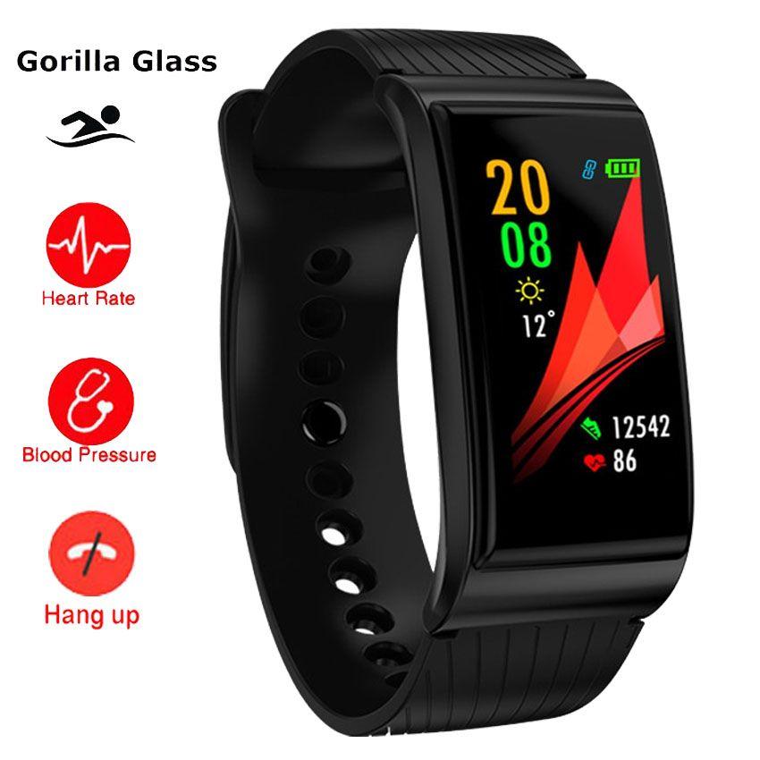 Schwimmen S Körper Gorilla Smart Uhr Armband BP Herz Rate Monitor Fitness Tracker Band Für IOS/Xiao mi/ ehre PK mi Band 4/Fit Bit 3