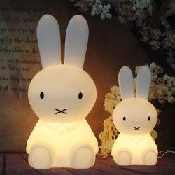 Lapin Led Table Lampe Lumière pour Bébé Enfants Enfants Cadeau Animal de Bande Dessinée Décoratif Éclairage De Chevet Bureau Chambre Salon