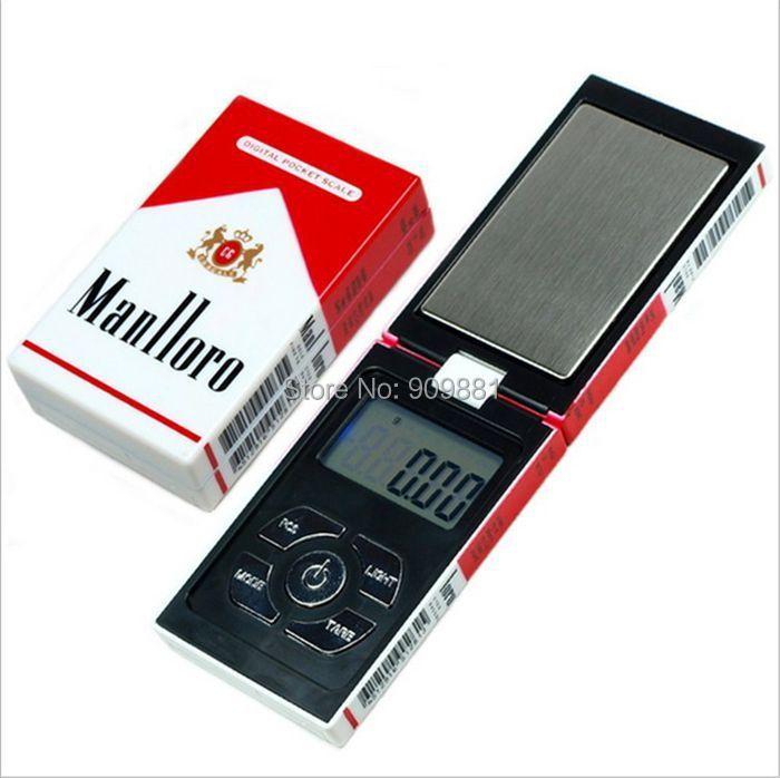 100g 0.01g Mini Électronique Échelles de Bijoux de Poche 0.01g Numérique Gram Étui à Cigarettes Poids Échelle Diamant Or Poids équilibre