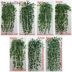 JOY-ENLIFE 1 piezas 90 cm barato Artificial hiedra plantas artificiales planta verde planta el follaje falso de la vid decoración de la boda decoración