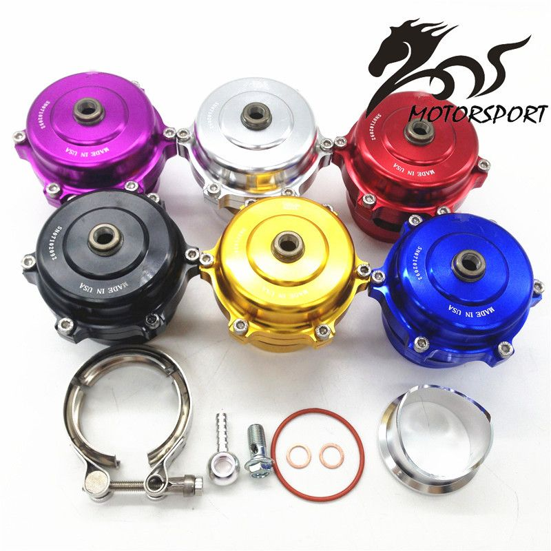 High Quality Tial style 50mm Blow Off Valve CNC BOV Authentic with v-band Flange with logo
