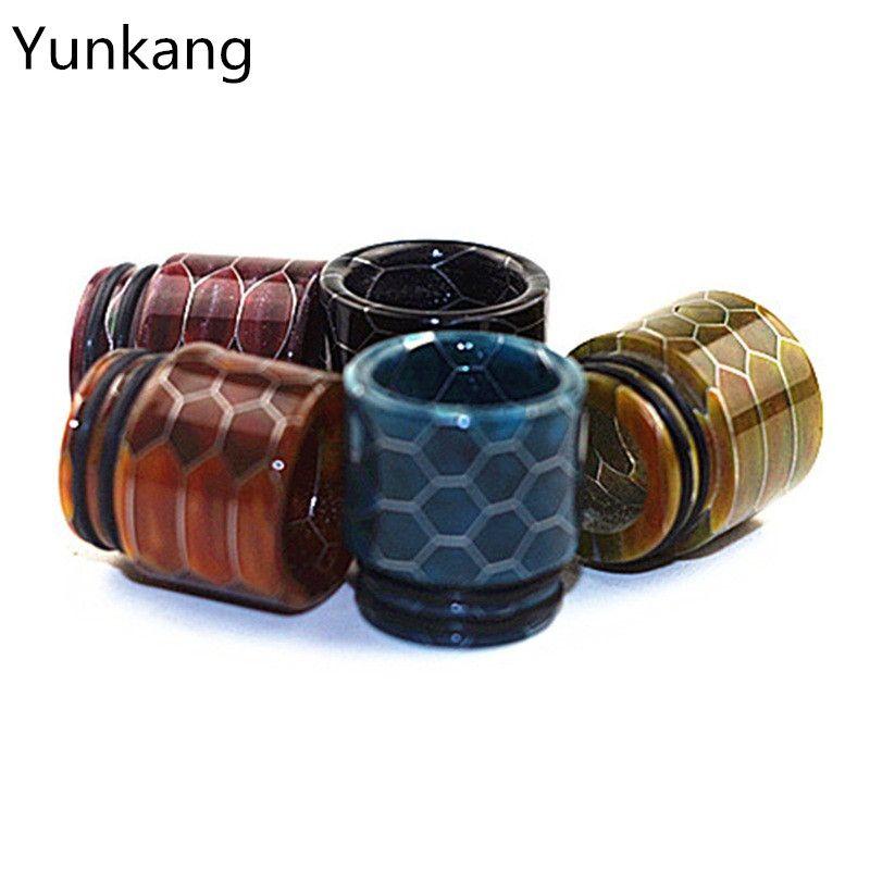 Yunkang Vape Schlangenhaut Mundstück e zigarette Zerstäuber 810 Tropfspitze Kompatibel mit SMOKK TFV8, TFV12, TFV8 BABY UND GROßES BABY