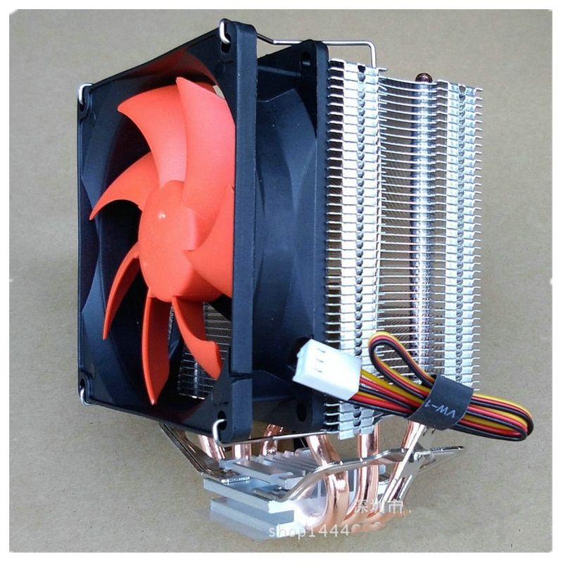 Various 3 4 6 Heatpipes Radiator CPU Cooler for Intel LGA771/775/115X/2011 for AMD
